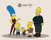 The Simpsons x Yeezy Season 2 x machonis