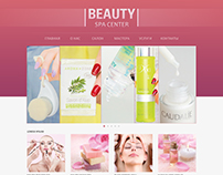 Beauty Spa Center Website