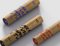 Paper Tube Mockup Bundle - Slim Sizes