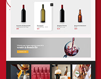 Website for a wine seller - 1day/1site
