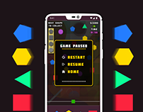 Shapes Shape Game Design and UI Work
