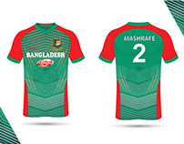 Bangladesh Cricket Jersey Design