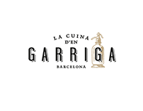 La Cuina d'en Garriga. Logo design and graphic charter.