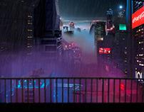 Blade Runner Inspo