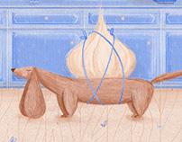 Cățel de usturoi