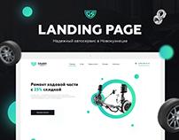 Landing Page - Grand Service