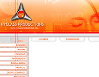 Hyclass Productions: Layout Design