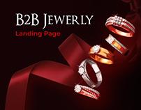 Landing Page B2B Jewerly