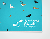 Feathered Friends Bird Adoption Brand Identity