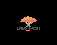URBAN GARDEN HOTEL_Brand design + mural