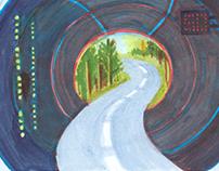 Hallo Leben!(Hello life!) Austria: sketches on the road