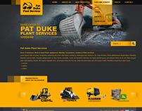 Pat Duke website design