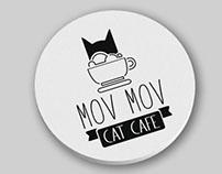 Mov Mov Cat Cafe / Brand Identity