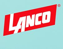 Lanco paints wireframe