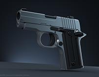 Pistolas - Práctica de modelado (proyecto de seguridad)