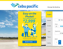 Cebu Pacific Air Website
