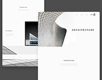Minimalistic Landing Page Design
