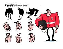 Rupert Character Design