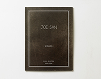 DESIGN EDITORIAL / LOOKBOOK JOE SAN