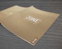 Zone / Menu Brochure Design