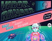 Vapor Ranger   玩具, 插畫, 設計