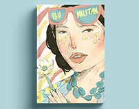 Book Cover of Ibu Militan by Astrid Reza