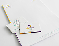 Visiting Card & Letterhead Design - Click Hotels