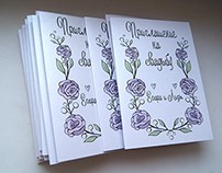 postcards for wedding
