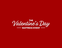 PCR Valentine's Day Mattress Event