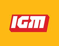 Логотип и фирменный стиль IGM