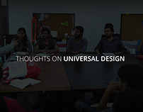 Thoughts on Universal Design-A short film