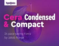 Cera Condensed & Compact Pro