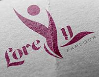 Lovely beauty parlour.(logo design)