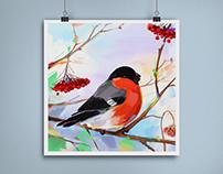 Sparrow illustration