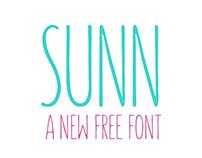 The FREE Sunn Typeface