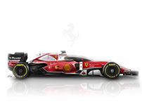 Ferrari Formula-One SF16-H/K | Concept Prototype