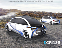 Individual interactive vehicle ECROSS №3