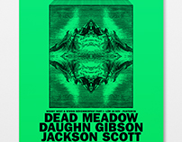 A2 Poster for Dead Meadow etc