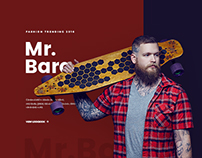 Mr.Bara Fashion Website