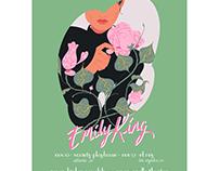 Emily King tour poster