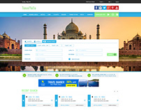 Travel & Booking Website