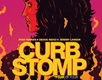 CURB STOMP comic issue #4 by BOOM!studios.