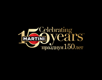Martini 150 years invitation