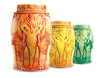 Williamson Tea Elephant caddies