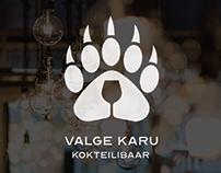 Valge Karu kokteilibaari logo