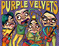 The Purple Velvets Album Cover