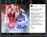 Dwight Howard Social Media Artwork 2016-2017 Season