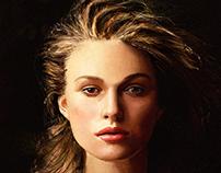 Keira Knightley Digital portrait