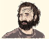Rick Grimes (Bearded madman)
