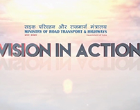 Vision in Action, Ministry of Road Transport & Highways